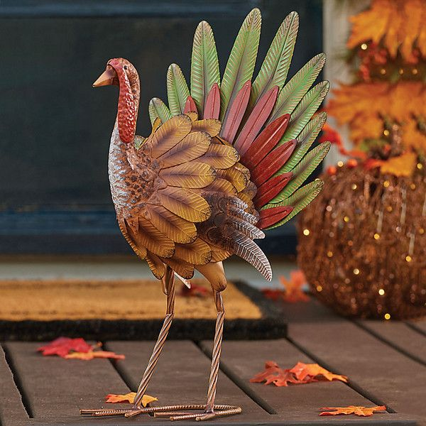 Pin On Thanksgiving, Outdoor Turkey Decorations