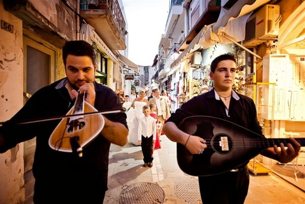 Local musicians - Crete - Rethymno