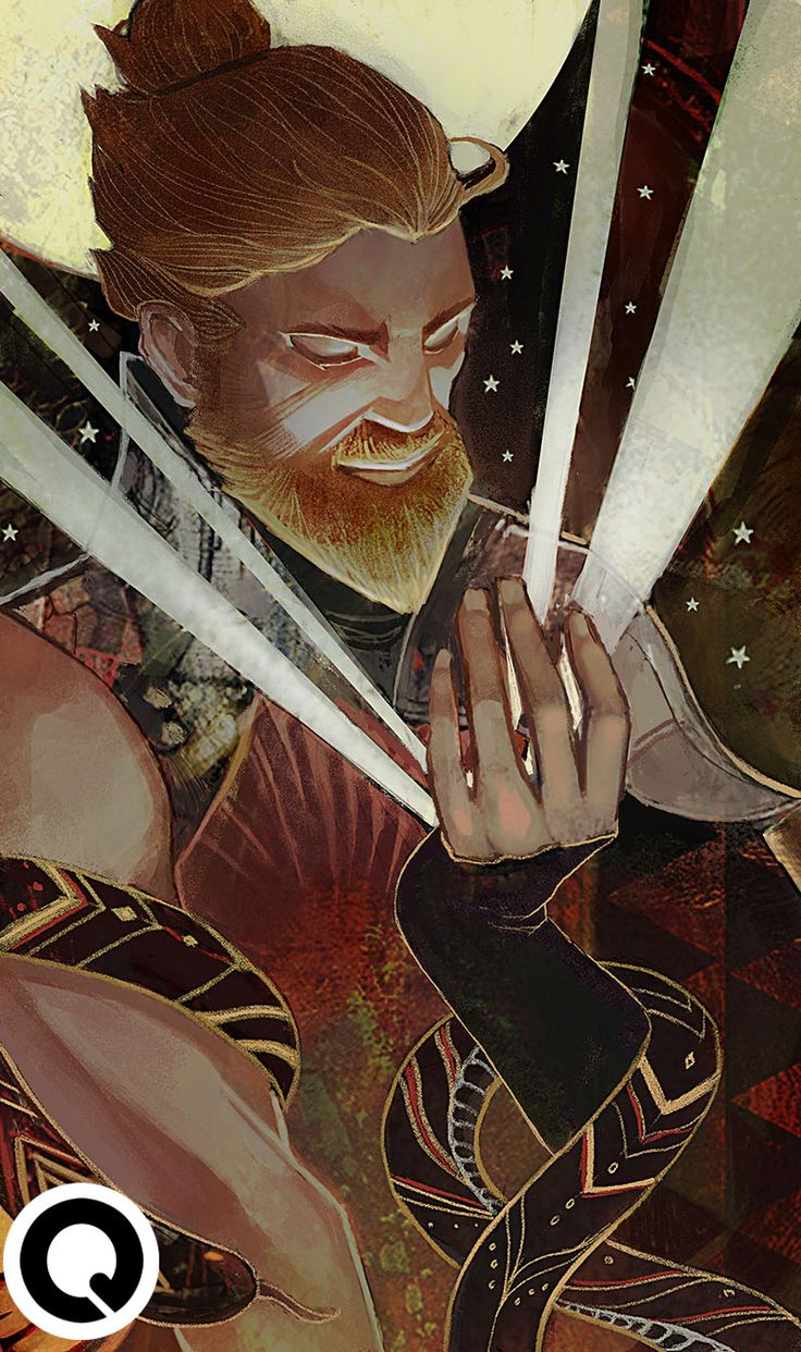 "qissus:Thanks to @ferlocke for commissioning me an Inquisitor tarot based on ""The Fool"" @ferlocke does Dragon Age fanfics as well C: Commission me @ qkhalidah@gmail.com! (:"