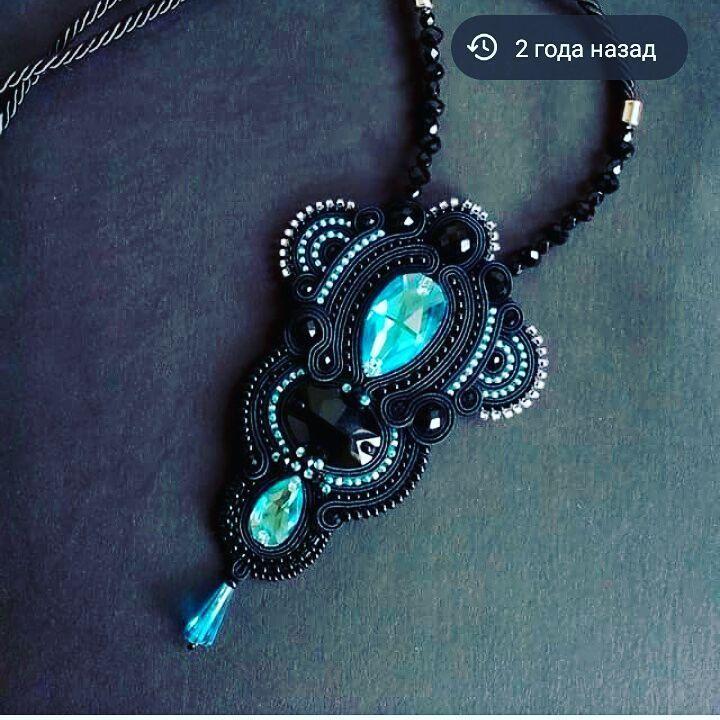 1000 besten Soutache pendants 2 Bilder auf Pinterest | Shibori ...