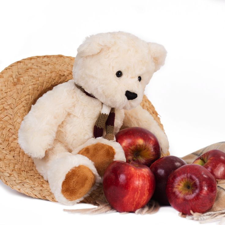 Teddy Freddy - Cream 88.547.033 Teddy Freddy is made from the finest superior soft plush and is soft and floppy making him the ideal companion for young children to cuddle and for comfort. The contrast in the colour of Teddy Freddy's body and paws add to his wonderful personality.