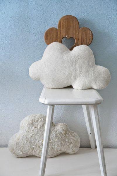 Etrala London Blog : DIY: Cloud & Star Baby Cushions ☁ ✭