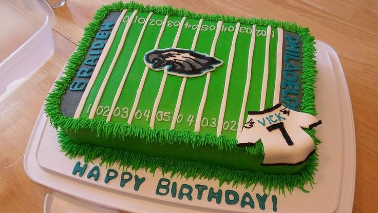 Philadelphia Eagles Th Birthday Cake