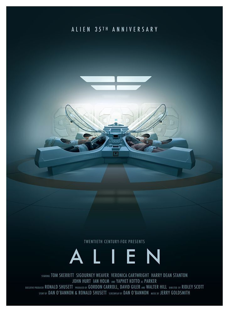"""That moment when you look up the imagery, metaphors, and other cinematic/literary devices used in """"Alien"""" and have your mind blown."""