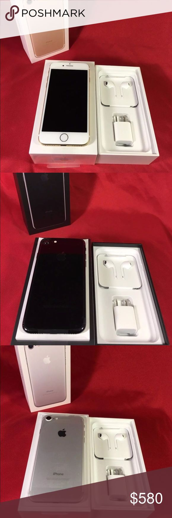 Apple iPhone 7 / 7 Plus (Factory Unlocked) 100% Authentic 🔹 We are a very negotiable service 🔹 We provide overnight shipping and express shipping 🔹 Our transactions are made through third party applications 🔹 If you are interested in buying this product please contact us via 646-961-2836 🔹 Apple Accessories