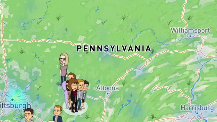 """JOHNSTOWN- Local police departments are warning parents about a new feature called """"Snap Map"""" on a popular phone app.Snapchat added a new feature one week ago thatrevealsusers' locations on a map in an instant.Now, police are raising their concerns and a"""