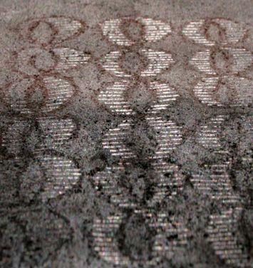 Apparenze 4 2009 Stele cm 36x24  Ceramica- Mix di terre raccolte in toscana e refrattari. By Giovanni Maffucci