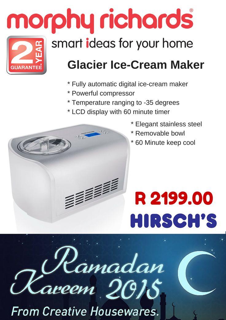 Glacier Ice-Cream Maker