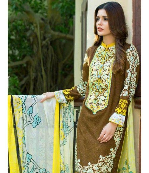 Monsoon Festivana SS '16 Embroidered Collection by Al Zohaib AZ_7B