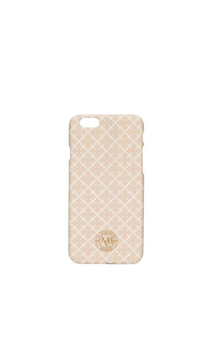 Phone Case - iPhone 6 Pamsy LATTE - By Malene Birger - Designers - Raglady