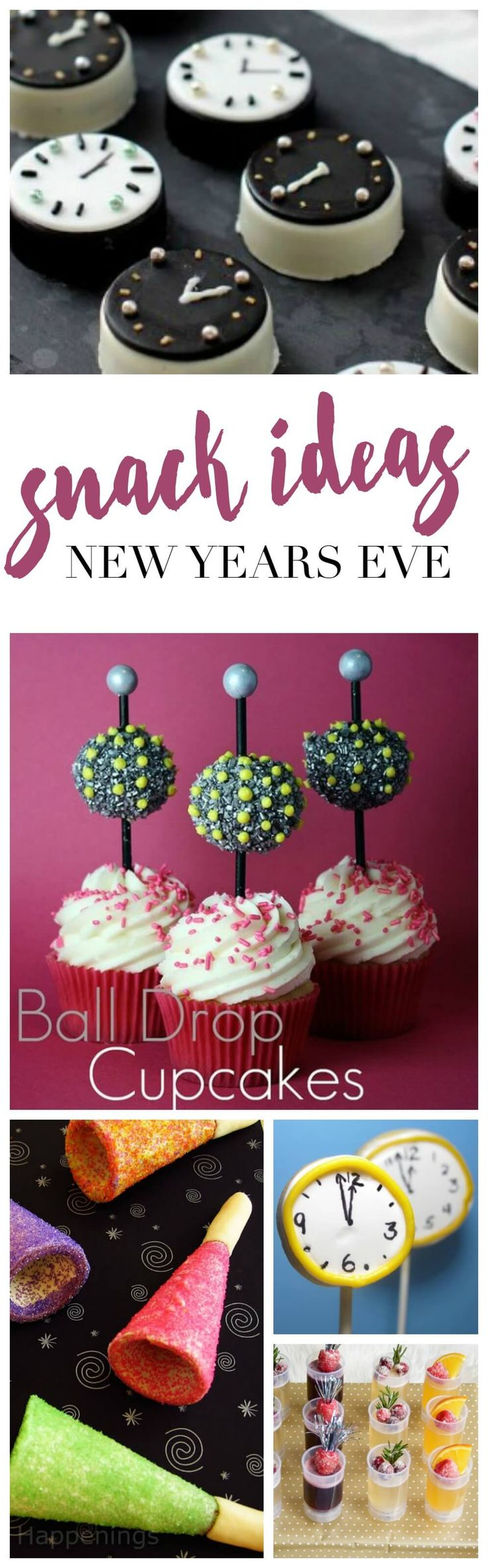 Check out these amazing New Years Eve Snacks and Ideas for your New Years Eve Party this year!