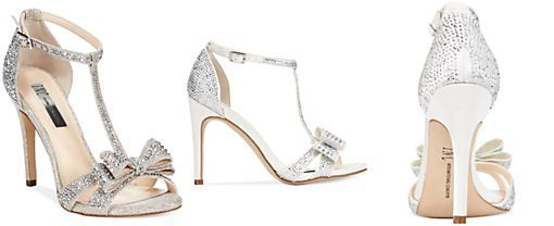 INC International Concepts Women's Reesie Rhinestone Bow Evening Sandals, Only at Macy's I HAVE THESE