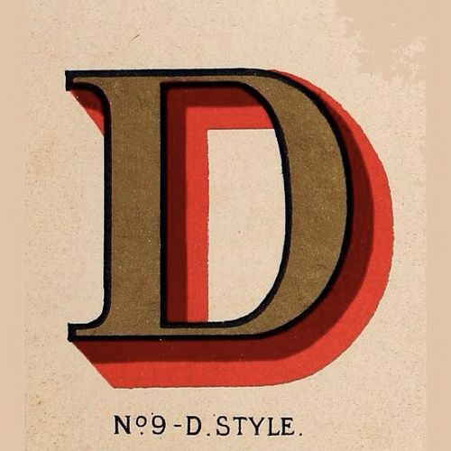 #type #typography #design #graphicdesign #letter #d