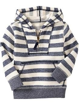 Striped Terry-Fleece Hoodies for Baby | Old Navy