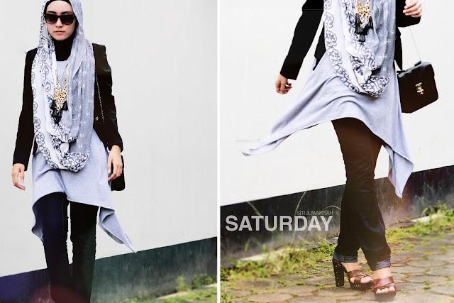 Black and Bold | Siti Juwariyah on Saturday Blog