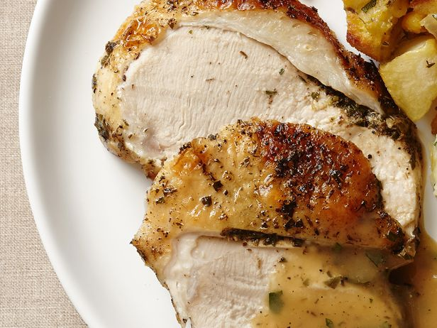 Dry Brined Turkey With Classic Herb Butter recipe from Food Network Kitchen via Food Network