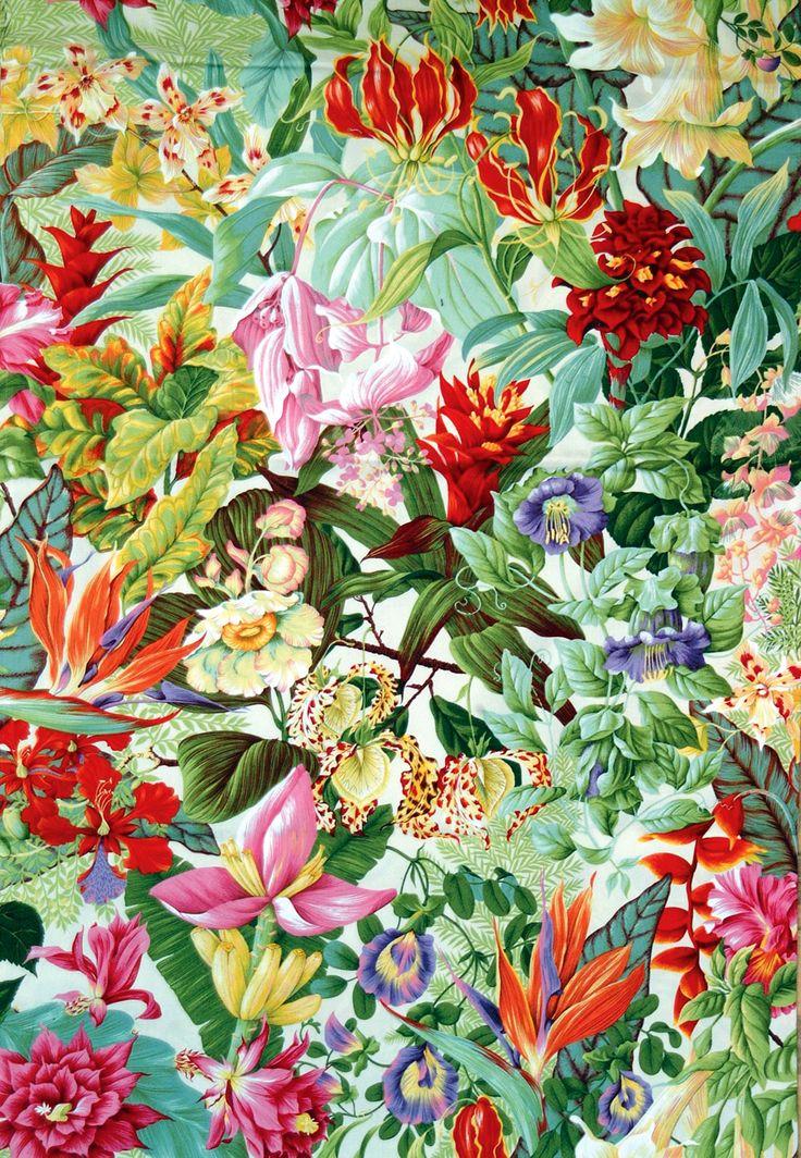 Pierre Frey 'Balata' fabric by Caroline Watson. - Vogue Living
