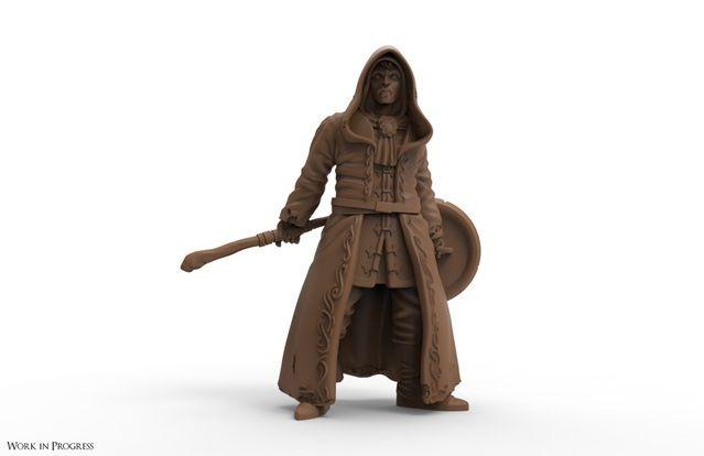 Sorcerer Player Character Render