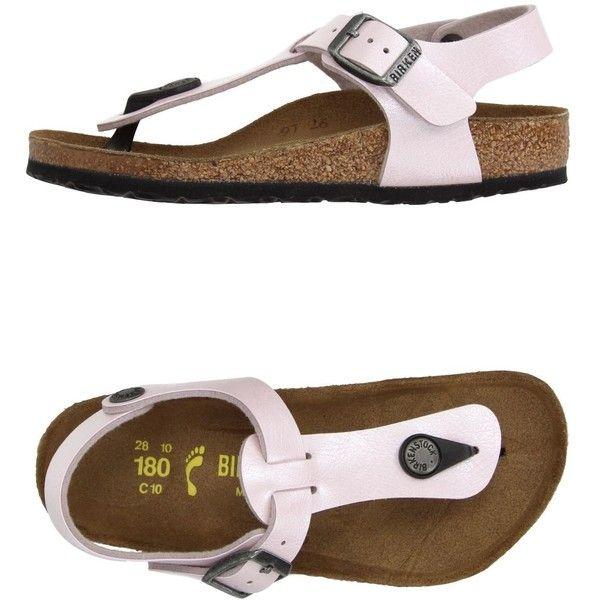 BIRKENSTOCK Flip flops ($74) ❤ liked on Polyvore featuring shoes, sandals, flip flops, birkenstock footwear, birkenstock flip flops, birkenstock sandals, birkenstock and birkenstock shoes