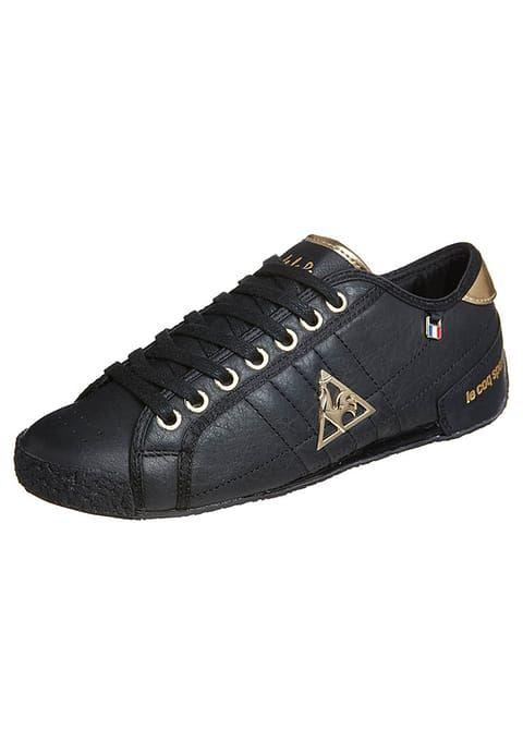 Köp  le coq sportif ESCRIME LA REUNION - Sneakers - black för 849,00 kr (2017-07-23) fraktfritt på Zalando.se