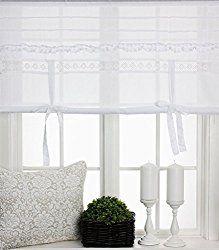 gardinen landhausstil. Black Bedroom Furniture Sets. Home Design Ideas