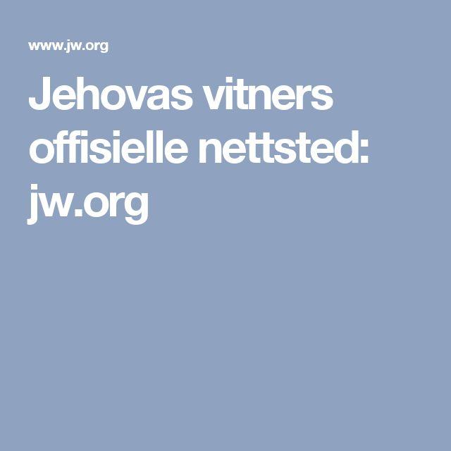 Jehovas vitners offisielle nettsted: jw.org