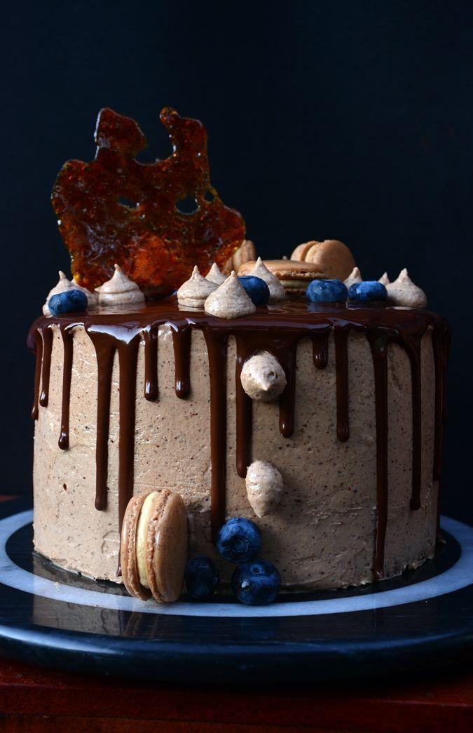Candy's: Mogyorós - karamelles tejcsoki torta