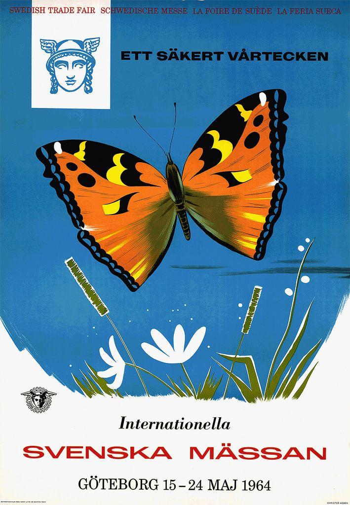 Den 15-24 maj 1964 arrangeras den internationella vårmässan på Svenska Mässan. Detta år har förpackningsmässan Scanpack, en av Europas största och viktigaste förpackningsmässor, premiär.