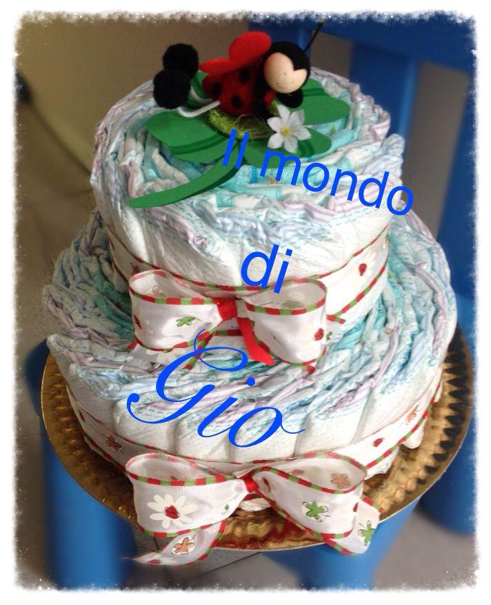 Diapercake #fortuna #coccinella
