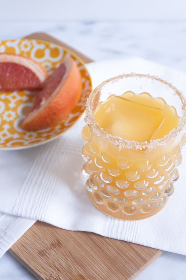 Mango Paloma Tequila Cocktail