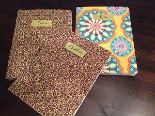 Cloth Covered Notebook Tutorial | Crafty DIYs