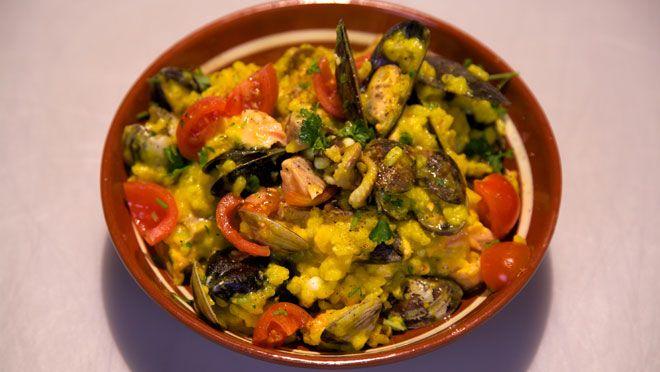 Risotto ai frutti di mare (Risotto met zeevruchten) - recept | 24Kitchen