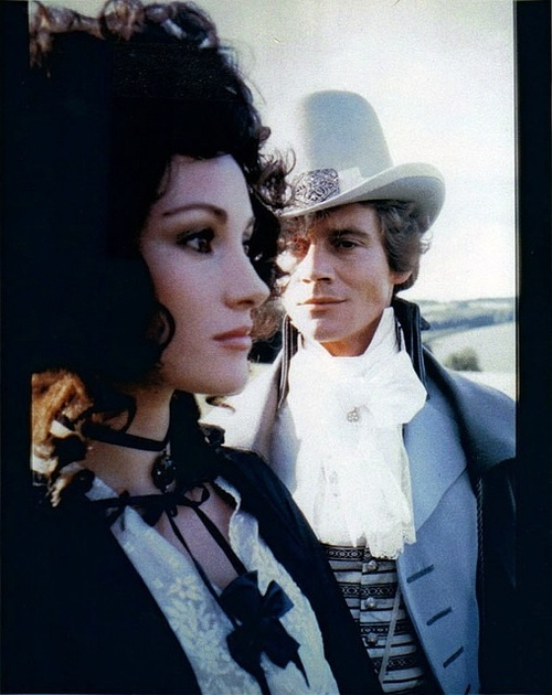 Jane Seymour as Marguerite Blakeney and Anthony Andrews as The Scarlet Pimpernel - BBC 1982 miniseries