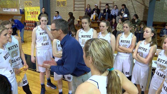 Girls High School Basketball: Plainview Christian vs Notre Dame - January 26, 2016