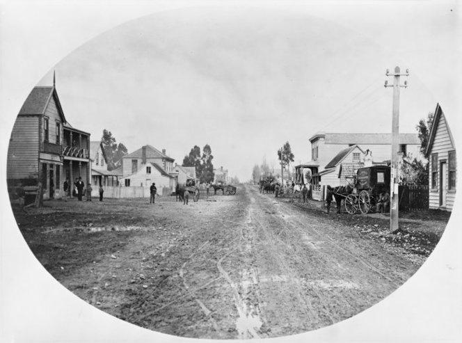 Greytown, looking south