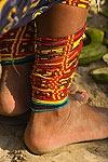 Anklets, Kuna Indian