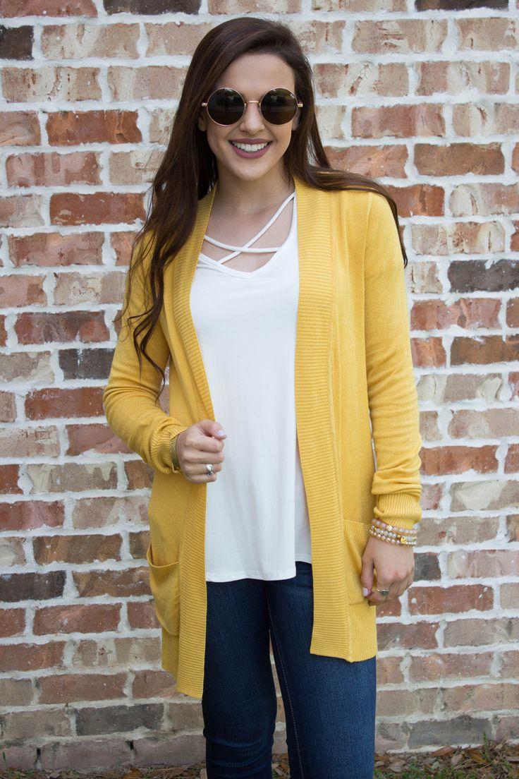Best 20+ Mustard yellow cardigan ideas on Pinterest | Mustard ...