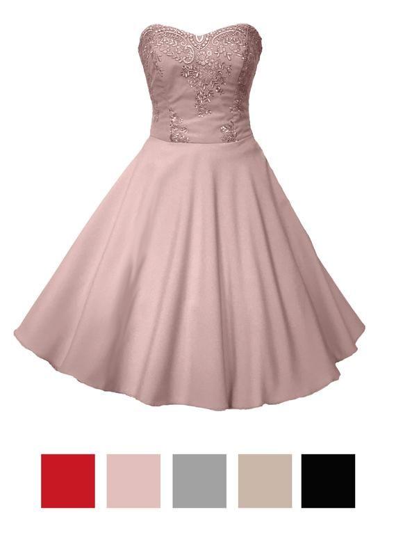 Evening Dress Cocktail Dress Black Petticoat Old Rose Abendkleid Cocktailkleid Cocktailkleid Hochzeit Und Schone Cocktailkleider