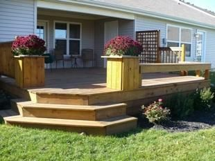 how to build patio with stairs no railings youtube