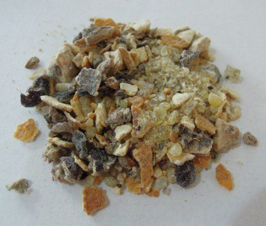 Loose Incense blend - Citrus, made using Lemon Peel, Calamus Root, Juniper Berries and Frankincense.