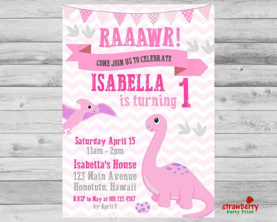 5438 best kids birthday invitations images on pinterest birthday dinosaur birthday invitation dinosaur party dinosaur filmwisefo