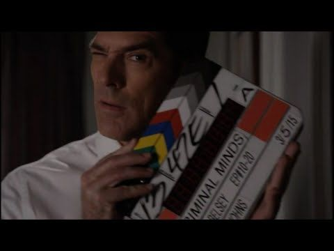 """Criminal Minds - Season 10 Bloopers... """"I dropped the hard drive.. it's all over!"""" :p"""