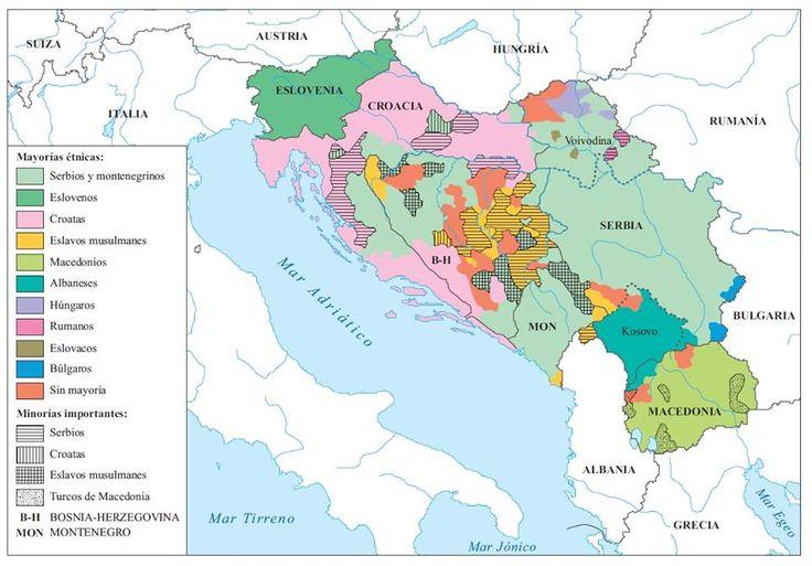 28. Las nacionalidades en Yugoslavia