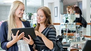 Rebooking clients is one of the easiest ways for stylists to boost their income! Read these 4 tips to ensure your clients are rebooking with you every visit! #cosmetology