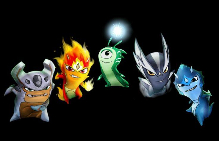 Slugterra Return Of The Elementals slugs