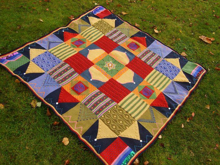 Ravelry: Arabian Nights - Mystery Blanket 2009 pattern by Debbie Abrahams