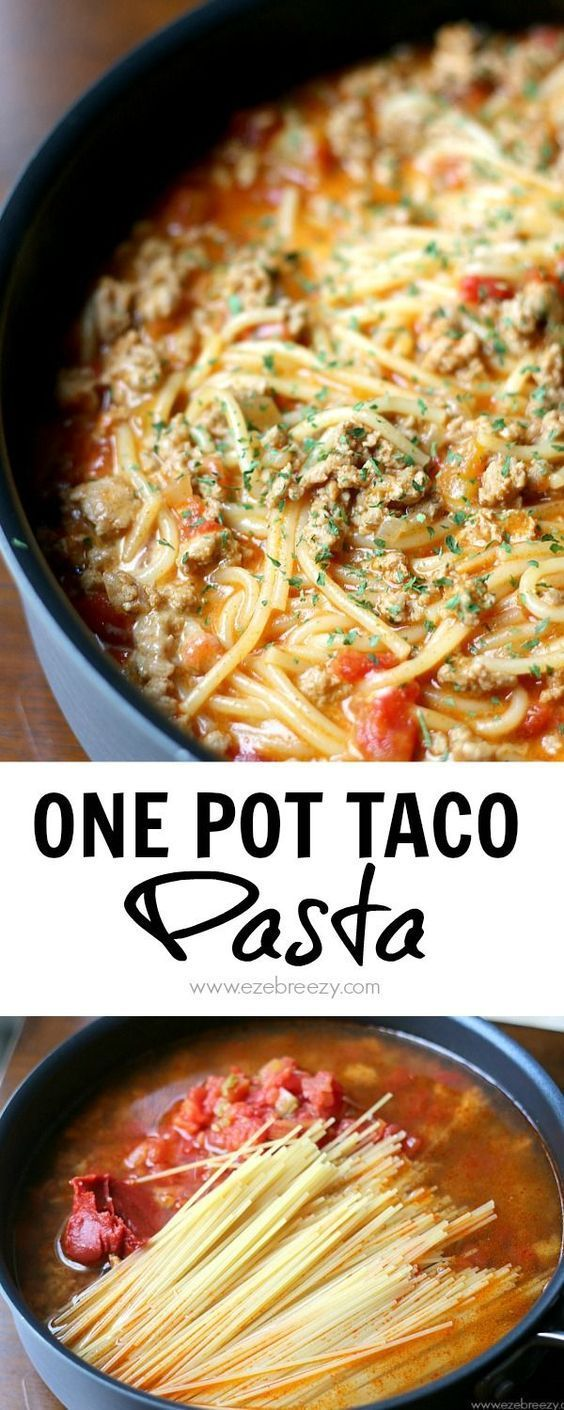 This One Pot Taco Pasta recipe is so easy to make and even easier to clean up! All the flavor of a taco in one single pan. This recipe will quickly…