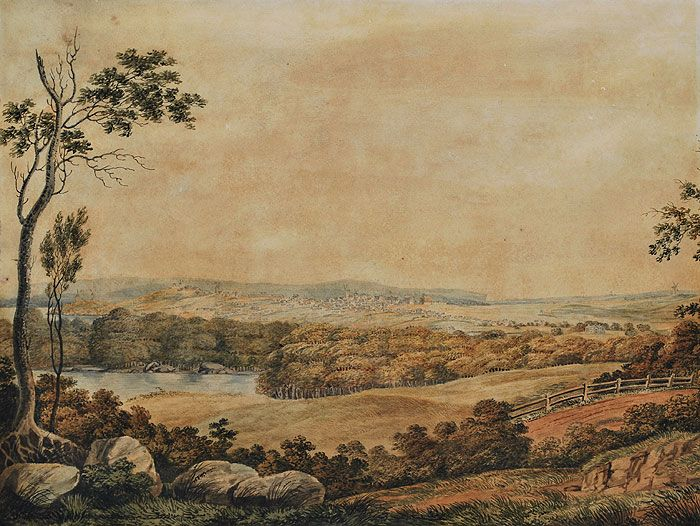 Sydney From Parramatta Road, c1819