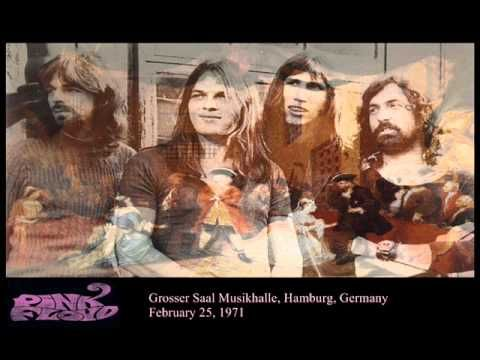 ▶ Pink Floyd - Atom Heart Mother (Live) -Uploaded on Jul 1, 2011     Recorded live  at Grosser Saal Musikhalle, Hamburg, (West)Germany   February 25, 1971    set list:(1971/02/25): Astronomy Domine . Green Is The Color . Careful With That Axe Eugene . Cymbaline . The Embryo . Set The Controls For The Heart Of The Sun . A Saucerful Of Secrets -encore-  ★ Atom Heart Mother