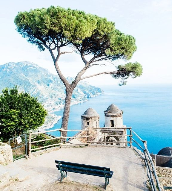 View from Villa Rufolo, Ravello, Italy.  Become the best in the business by recruiting the best tech talent. Recruiting for Good can help, email us at carlos@recruitingforgood.com
